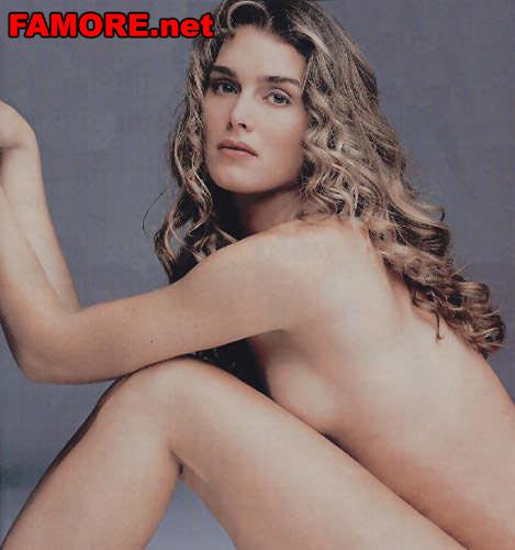 Абсолютно голая Брук Шилдс (Brooke Shields)