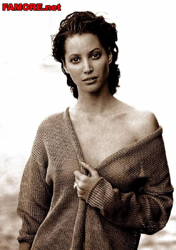 Кристи Тарлингтон (Christy Turlington) в негляже