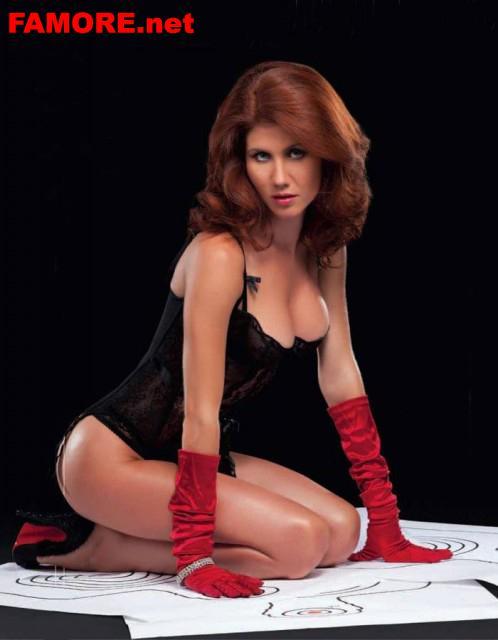 Анна чапман в эротических фотосессиях